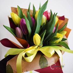 Bouquet mignon di tulipani...