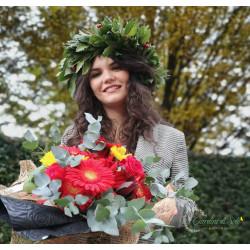Corona di Laurea + Bouquet...